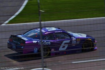 Bubba Wallace passes us by at nearly 200 mph. (2017)