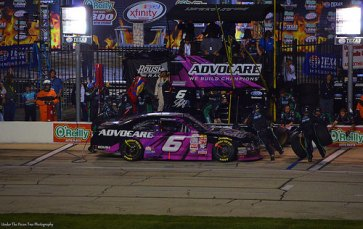 Bubba Wallace at the Pit Stop in 2015