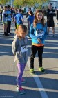 Katelynn and Sara are getting ready to move to the starting line. (October 2016)