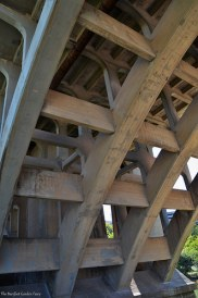 The underside structure of the Paddock Viaduct (Main Street Bridge)