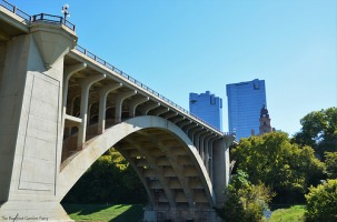 The Paddock Viaduct celebrated its 100-year-Anniversary in 2013. The bridge is named in honor of B.B. Paddock, former State Legislator and Mayor of the City. On March 15, 1976 it was added to the National Register of Historic Places.