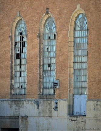 More windows of the Old TXU North Main Power Plant