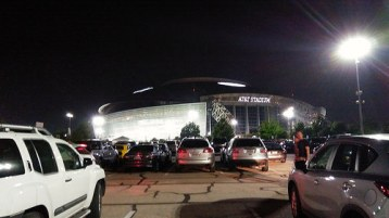 It was a beautiful night in the AT&T Stadium.