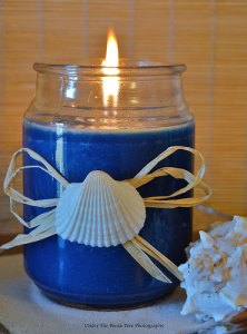 DIY Beach Candle