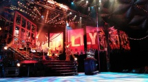 """The """"Rock of Ages"""" stage in Casa Mañana"""