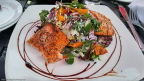 The Pan-seared Rainbow Trout Salad was perfect!