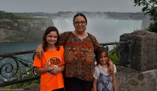 The girls and I in Niagara Falls, Ontario