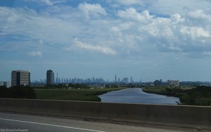 Manhattan in the distance