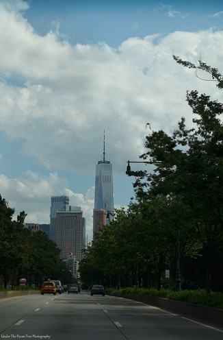 New York's new pride , the One World Trade Center/Freedom Tower