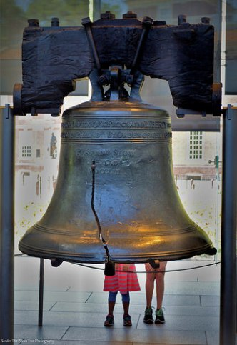 Liberty Bell with some little legs behind it ;)