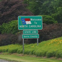 Yay, we are in North Carolina!