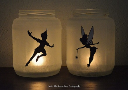 DIY Peter Pan & Tinker Bell Lanterns (August 2015)