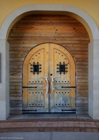 The Hunter's Door at the Harbor in Rockwall, Texas