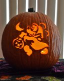 Trick-o-Treat Mickey Pumpkin 2014