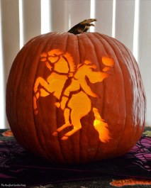 The Headless Horseman Pumpkin 2014