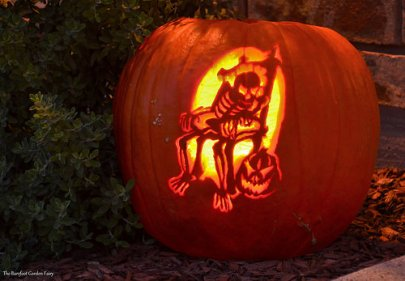 One of the coolest pumpkins, I've ever carved. We won a $50 gift card in a local restaurant for this one.