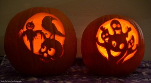 Katelynn's and Sara's Pumpkins (2017)