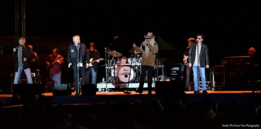 The Oak Ridge Boys live on stage in The Colony