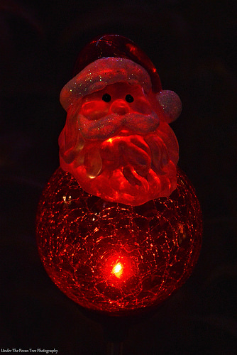 Our Santa globe light