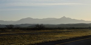Davis Mountains in West Texas