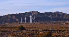 Wind Energy Turbines in the Californian desert