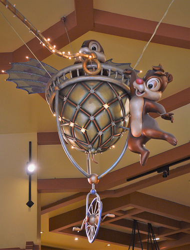 Chip & Dale in World of Disney