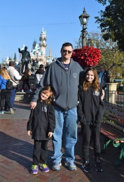 The beginning of an exciting day in Disneyland
