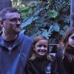 Kevin, Sara and Katelynn on the Jungle Cruise.