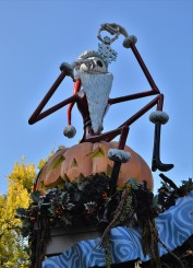 Jack Skellington at the Haunted Mansion