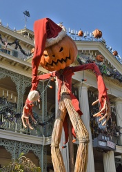 The Nightmare Before Christmas at the Haunted Mansion