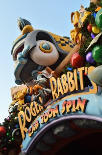The Roger Rabbit's Car Toon Spin Ride in Mickey's Toontown