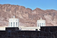 We crossed Hoover Dam twice. :D