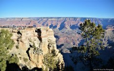 "Can you see the ""tiny tourists"" compared to the Grand Canyon. There is a reason why this canyon is called ""Grand"". ;)"