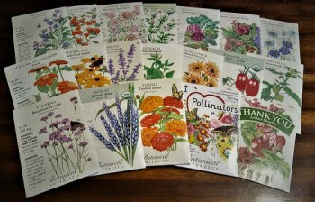 More seeds to sow this year. <3