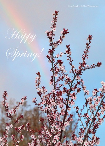 Happy First Day of Spring 2018!