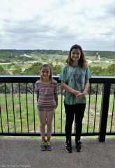 Sara and Katelynn at the Nature Store Overlook