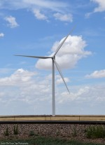 Texas wind turbine east of Amarillo