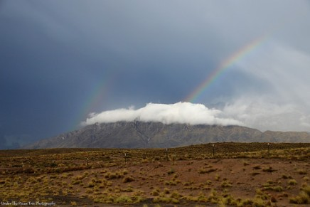 Beautiful rainbow on Highway 550, northwest of Albuquerque.