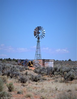 Arizona Desert Windmill