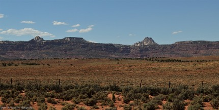 Landscape west of Lake Powell in Arizona