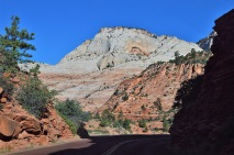 Scenery along Zion-Mt. Carmel Highway