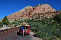 Kevin, Katelynn and Sara at Zion National Park