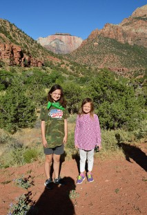 Katelynn and Sara at Pine Creek Canyon