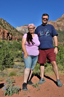 Kevin and I at Pine Creek Canyon