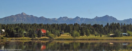 Mountains near Pagosa Springs in Colorado