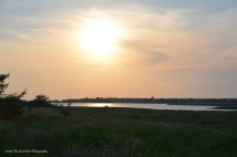 Sunset at The Colony Shoreline Trail 2013 (II)