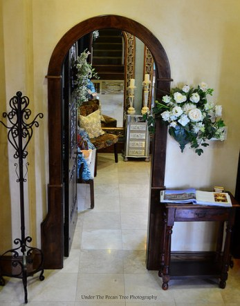 The entrance of the Bride's room