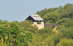 The observation tower at the Arbor Hills Nature Preserve in Plano, Texas