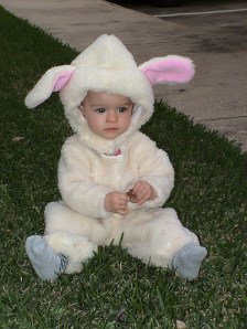 Katelynn in her little Lamb costume (2004)