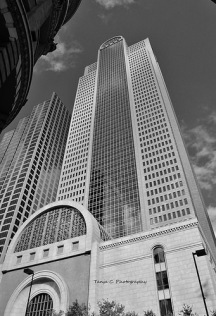 Comerica Bank Building B/W (2011)